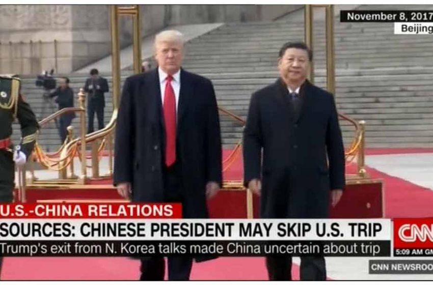 سی ان ان: سفر آتی رییس جمهور چین به آمریکا انجام نمیشود