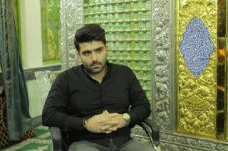 محمد رضا محسنی،مداح نام آشنای آملی