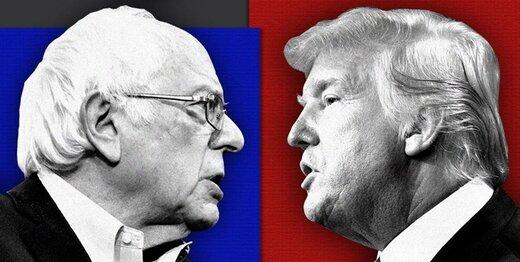 واکنش ترامپ به پیروزی سندرز در نوادا: برنی دیوانه! نگذار دیگران پیروزی را از تو بگیرند / بایدن و دیگران ضعیف اند