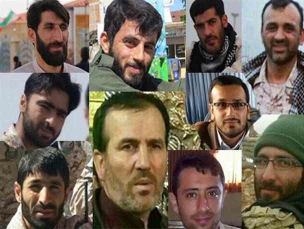 شناسایی پیکر هفت تن از شهدای  مدافع حرم منطقه خان طومان