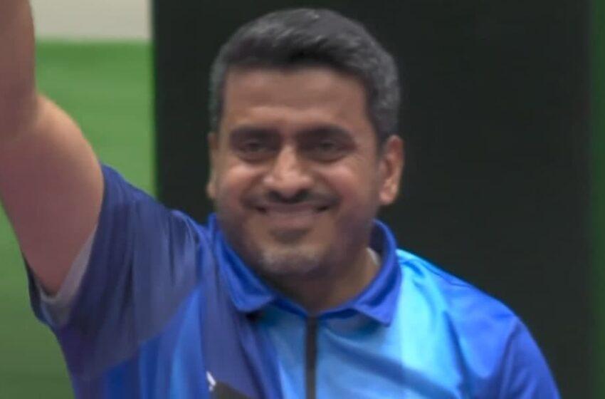 اتفاق تاریخی در توکیو؛ جواد فروغی نخستین طلای تاریخ تیراندازی ایران در المپیک را به گردن آویخت
